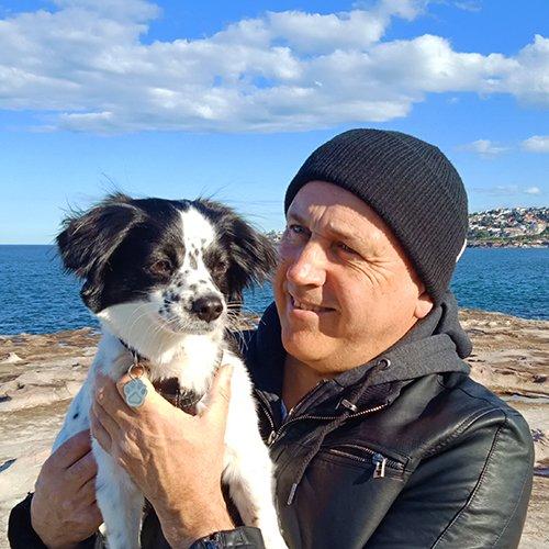 Mick and Panda photo